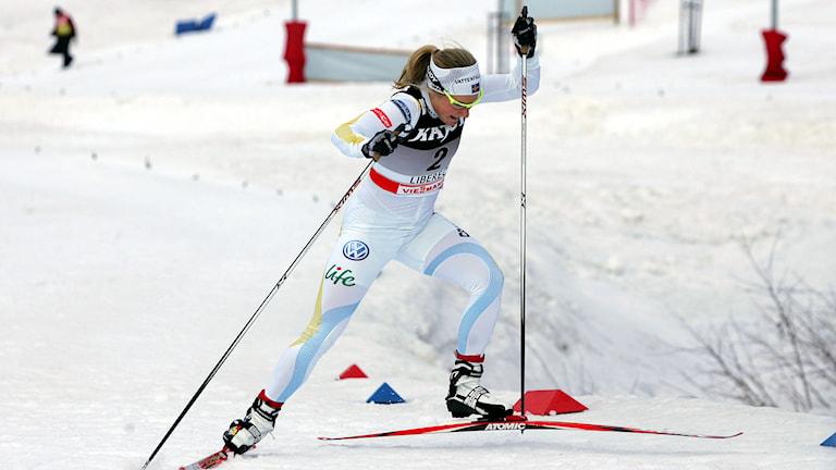 Hanna Falk - arkivbild. Foto: Aleksandar Djorovic/TT.