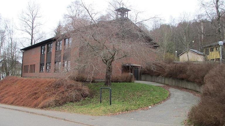 Norrmalms kyrka måste nu säljas efter bara ett år. Foto: Pär Sandin, P4 Sjuhärad Sveriges Radio.