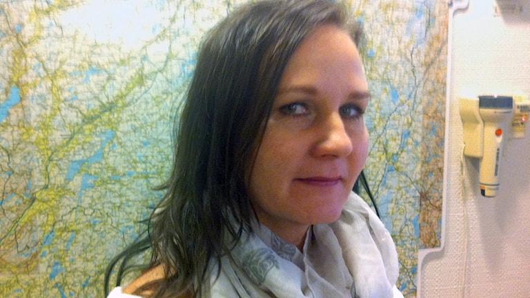 Anne Maaninka driver finsk hemtjänst i Borås. Foto: Sara Kvist