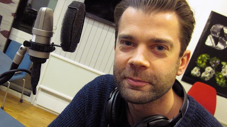 """Daniel Träff, aktuell i """"Rampfeber"""" på Borås stadsteater. Foto: Niclas Odengård."""