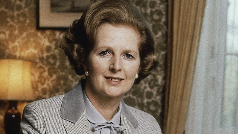 Margaret Thatcher. Foto: Gerald Penny