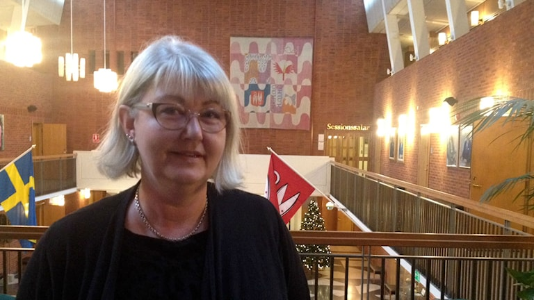Annette Carlson, moderaternas kommunalråd i Borås. Foto: Adam Koskelainen