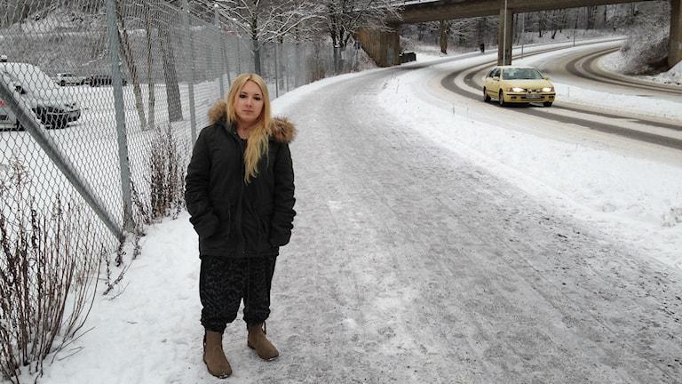 Victoria Axelsson. Foto: Erika Larsson/SR.