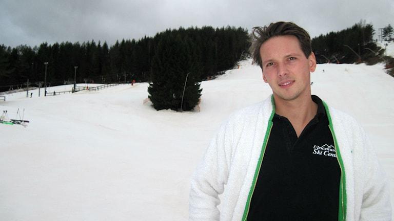 Jonas Bäckman Foto: Mattias Lindén