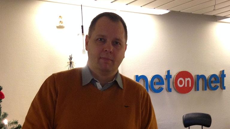 Jonas Järrenfors marknadschef på Netonnet. Foto: Madeleine Korneliusson