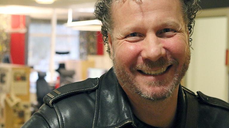 Låtskrivaren Jonas Liberg. Foto: Niclas Odengård.