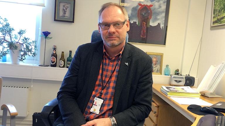 venljunga kommunchef Magnus Nilsson. Foto: Peter elvemo.