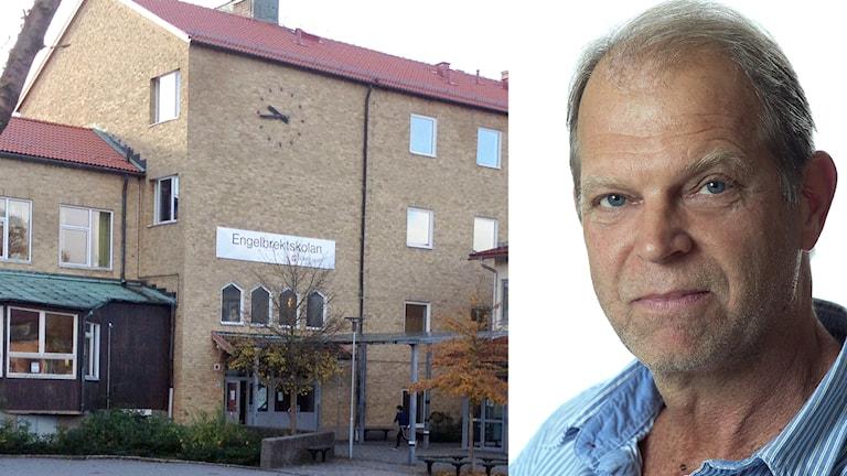 Områdeschef Lars Bengtsson. Foto: P4 Sjuhärad/Borås stad.