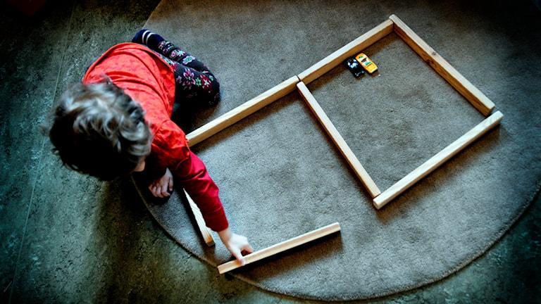 Barnet på bilden har inget med övergreppen att göra Foto: Jurek Holzer/TT