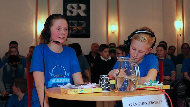 Ida Widman och Pelle Magnusson kämpade väl i tv-kvalet och det räckte till en sjuttonde plats. Foto: Malin Björk.
