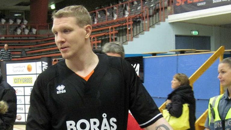 Christian Maråker var tillbaka efter knäskadan.