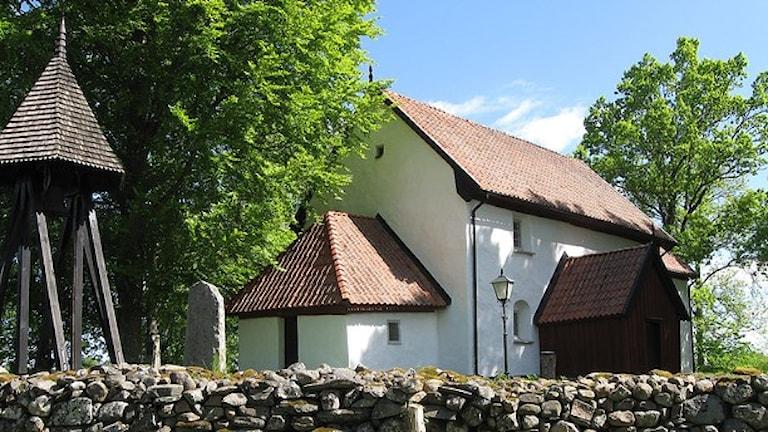 Eriksbergs gamla kyrka. Foto: Jan-Åke Thorell