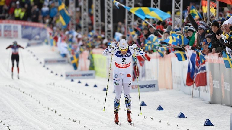 Hanna Falk. Foto: Anders Wiklund / TT.