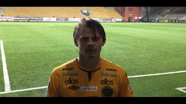 Simon Hedlund gjorde två mål i segern mot Sirius. Foto: Staffan Kulneff