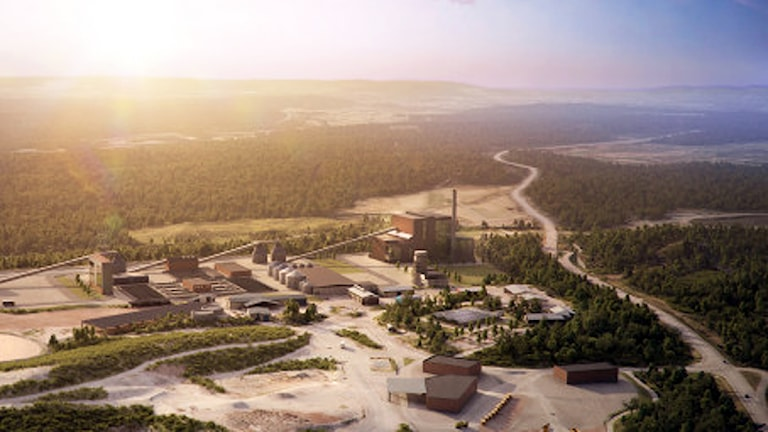 Det planerade energicentret på Sobacken i Borås. Foto: Borås Stad.