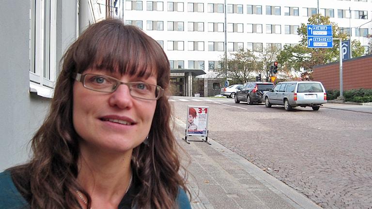 Anna Svalander (L). Foto: Jenny Hellström
