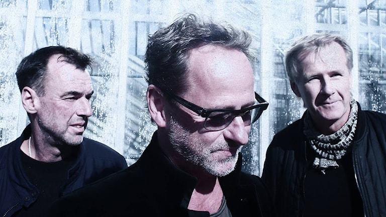 Fredá: Fr.v. Mats Johansson, Uno Svenningsson och Arne Johansson. Foto: Fredá.