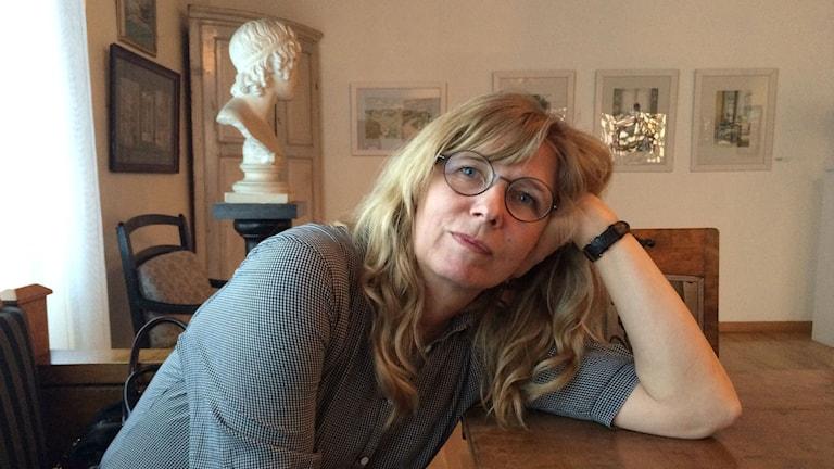 Karin Mamma Andersson. Foto: Maria Hansson/SR