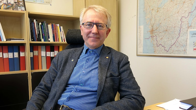 Herrljungas kommunstyrelseordförande Johnny Carlsson (C). Foto: Herrljunga kommun.