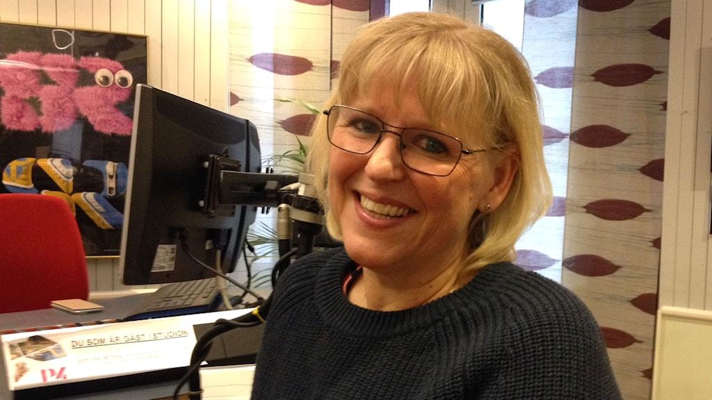 Carina Lindberg. Foto: Karin Ivarsson/SR.