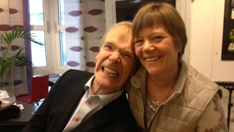 Lars Mullback med frun Anette Mullback. Foto: Karin Ivarsson