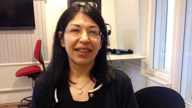 Haleh Lindqvist. Foto: Karin Ivarsson