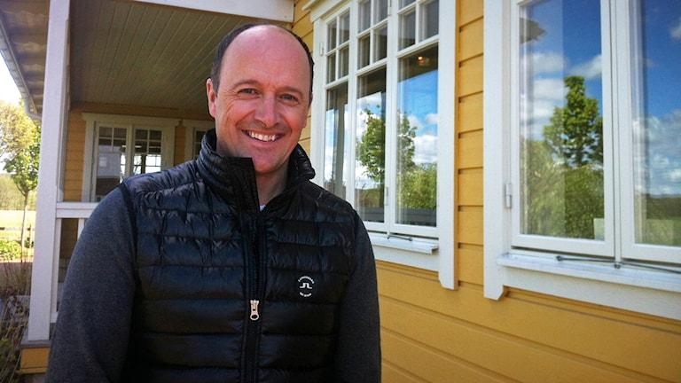 Travtränare Robert Bergh.