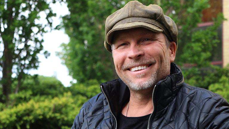 """Äventyraren Kenneth """"TinTin"""" Johansson. Foto: Niclas Odengård/Sveriges Radio"""