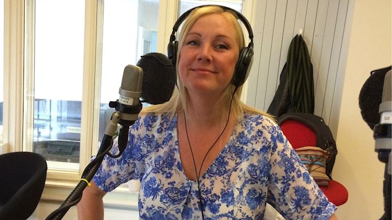 Petra Kyllergård. Foto: Johanna Svensson/SR