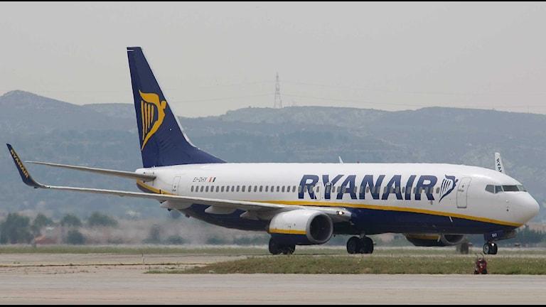 Flygplan från Ryanair