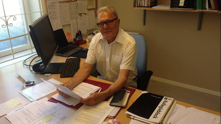 Henry Freij, tf chef för individ och familjeomsorg i Mark. Foto: Magdalena Brander