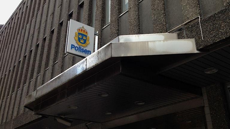 Polishuset i Borås. Foto: Sofia Kristiansen/SR