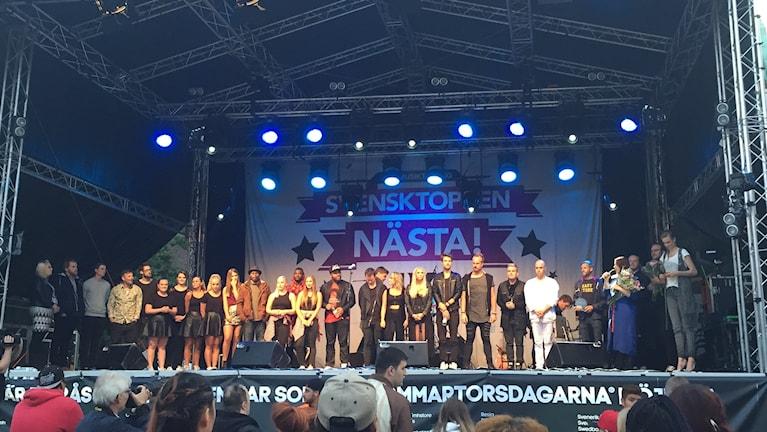 Finalisterna i Sjuhärads Svensktoppen nästa! 2015