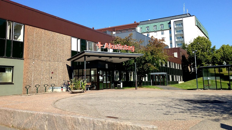 Akutintaget på Södra Älvsborgs sjukhus, SÄS. Foto: Sofia Kristiansen/SR