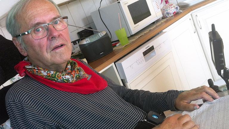 Hugo Bäckmark. Foto: Jenny Hellström/SR