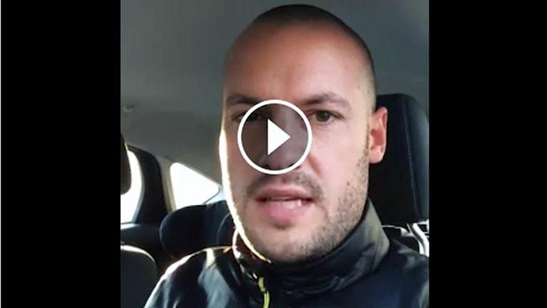 Elfsborgs marknadschef Marcus Hedelin. Foto: skärmdump.