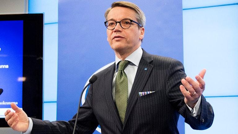 Arkivfoto. Göran Hägglund. Foto: Jessica Gow / TT