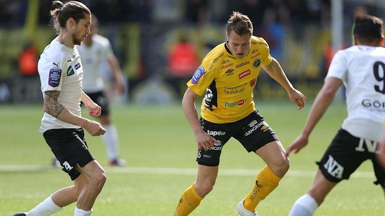 Elfsborgs Viktor Claesson. Foto: Björn Larsson Rosvall / TT