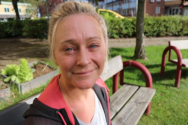 Malin Winbo från Borås. Foto: Niclas Odengård/SR