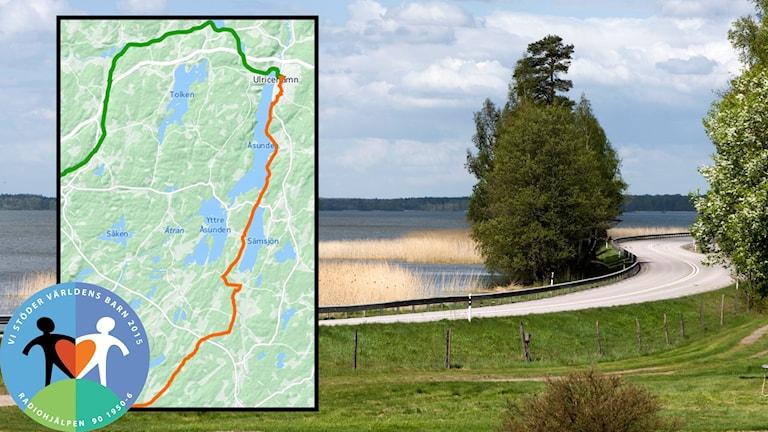 Etapp 4 - Svenljunga till Ulricehamn