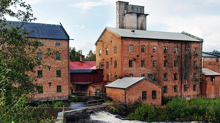 JTI:s snusfabrik i Vårgårda. Foto: JTI Sweden.