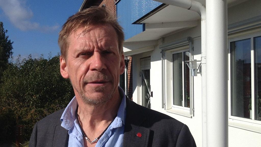 Peter Rosholm (S), kommunstyrelsens ordförande i Bollebygd.