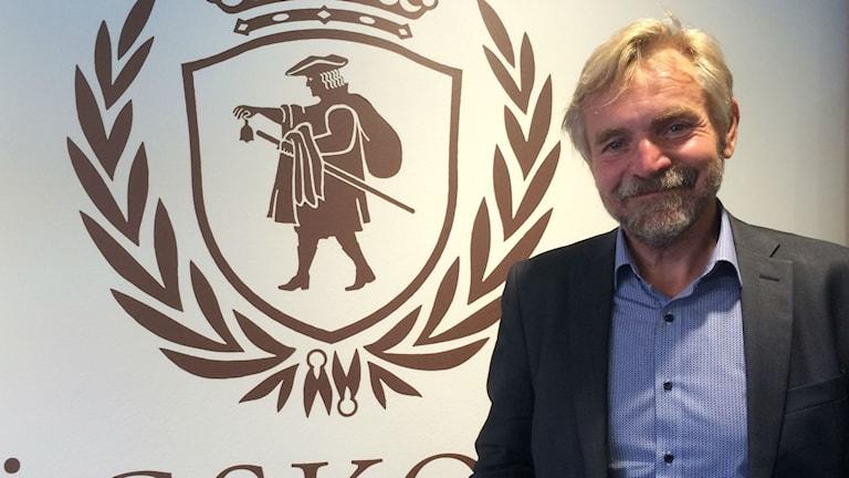 Björn Brorström, rektor på Högskolan i Borås. Foto: Melissa Gustafsson/SR