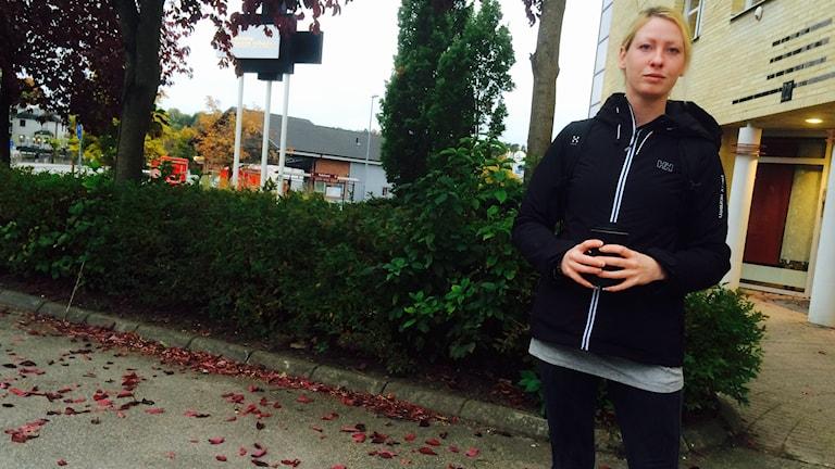 Anna Dressler. Foto: Marcus Léonarde/Sveriges Radio.