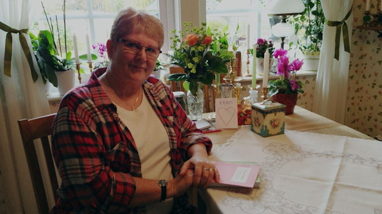 Ingela Eriksson. Foto: Sofia Kristiansen/SR