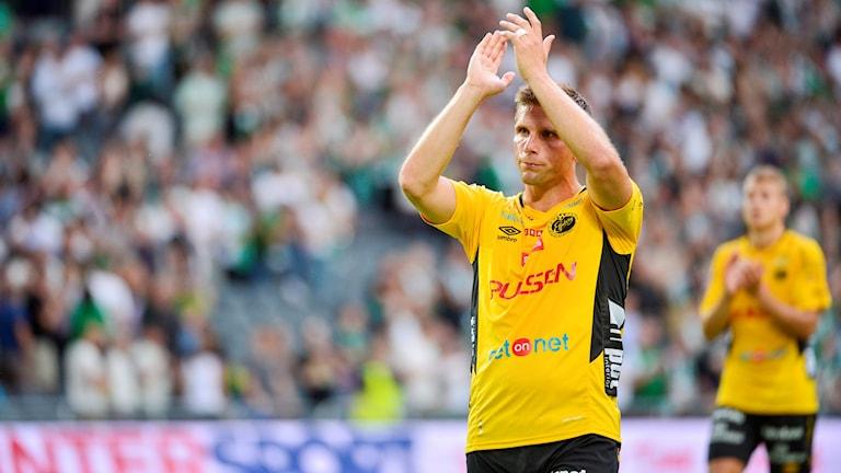 Elfsborgs Anders Svensson. Foto: Marcus Ericsson / TT