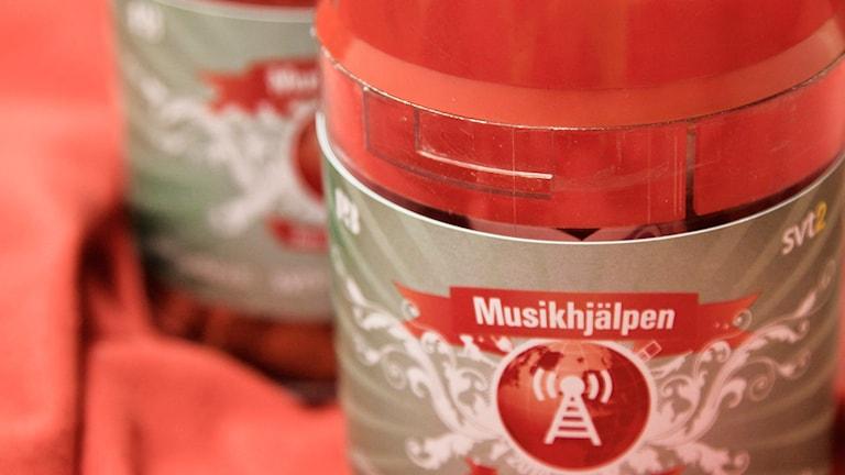 Bössa Musikhjälpen Foto: Oliva Mariette Borg/Sveriges Radio