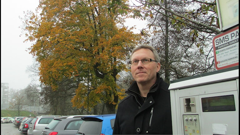 Lennart Johansson, vd parkeringsbolaget. Foto: Pär Sandin