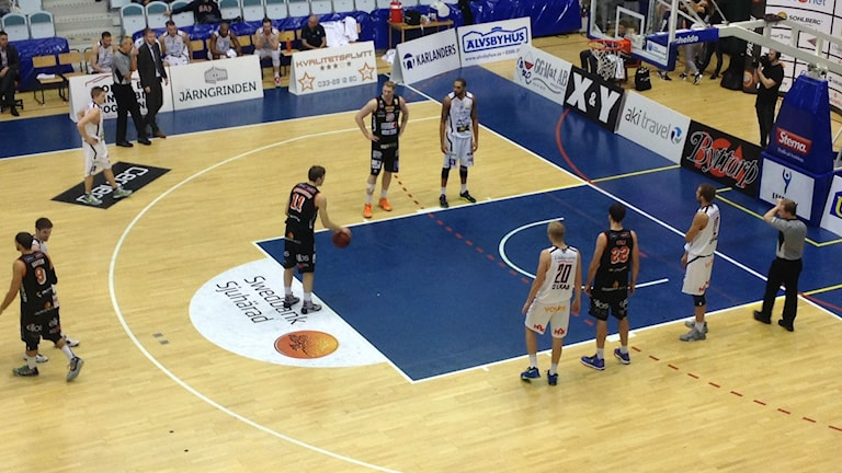 Borås basket. Foto: Mattias Lindén