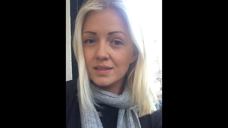 Edith Andén från Ulricehamn bor och studerar i Paris. Foto: Privat